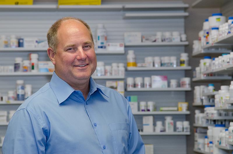Tim Brady pharmacist-owner